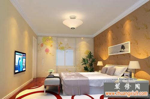 最新卧室电视机背景墙设计效果图片欣赏
