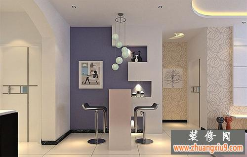 家装酒水柜装修效果图—客厅吧台效果图—家装吧台图