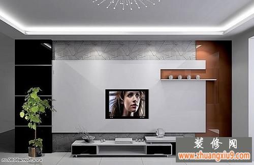 电视背景墙效果图最新参考(5)电视背景墙效果图最新参考(6)-电