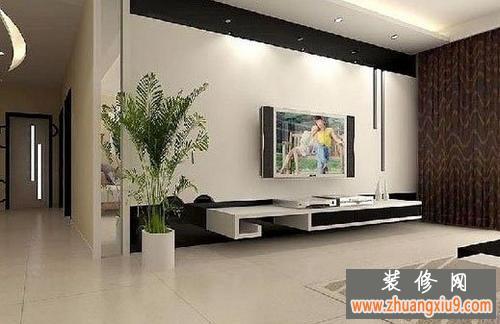 小客厅电视背景墙装修效果图