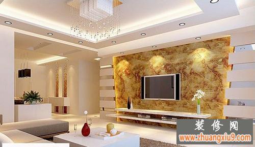 46个超酷房子电视墙装修效果图大全2013图片装点房子