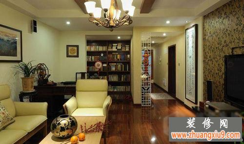 中式装修图片 中式客厅装修效果图欣赏2