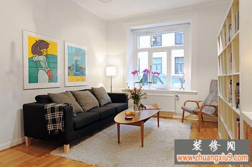 国外50平米小户型单身公寓装修设计