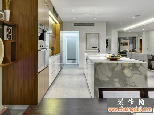 简约时尚 布里斯班欧式别墅装修效果图赏析-厨房图片