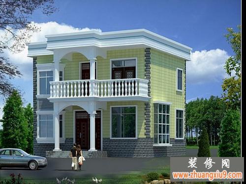 自建房设计图 给力农村独栋别墅效果图欣赏