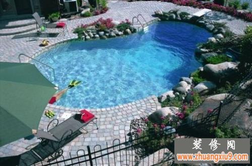24款欧美风乡村别墅游泳池图片欣赏