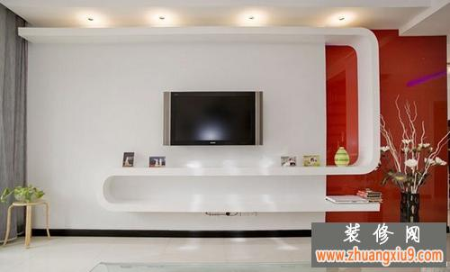 2013室內復式樓客廳裝修效果圖大全