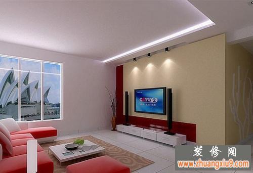 修客厅电视背景墙