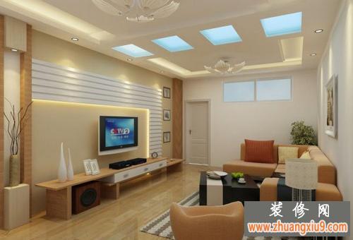 美观的客厅3d效果图 客厅vray效果图 室内设计 环境设计