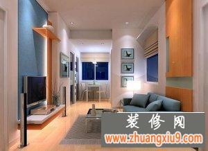 客厅古典家居装修沙发电视背景墙效果图