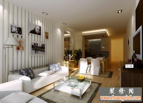 家装客厅效果图 2012最新客厅效果图 现代中式