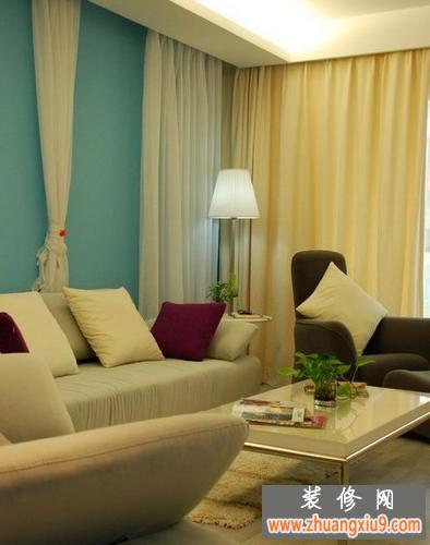 豪华型客厅效果图简约120平方的5W简装修实景图