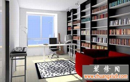 书香家庭推荐的书房装修设计效果图 让你更爱呆