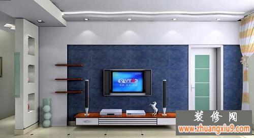 客厅电视背景墙装修效果图简约式风格