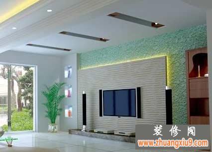 电视背景墙效果图  设计师问:客厅装修是喜欢什么