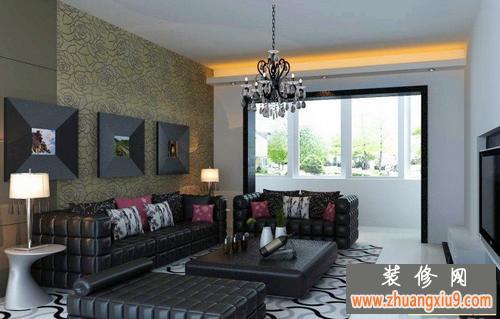 现代沙发背景墙装修效果图大全2013图片让客厅简单