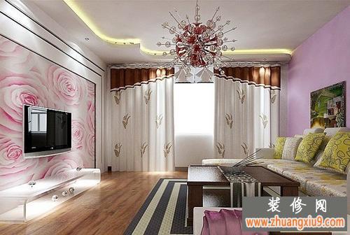 客厅吊顶效果图 最新的客厅吊顶效果图后现代风格领跑全行
