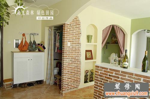 厨房装修效果图精选厨房门装修效果图-厨房门风水-厨房隔断门