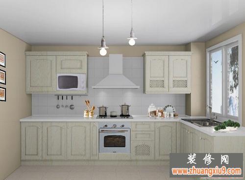 小厨房装修效果图—2013厨房装修效果图—整体厨房