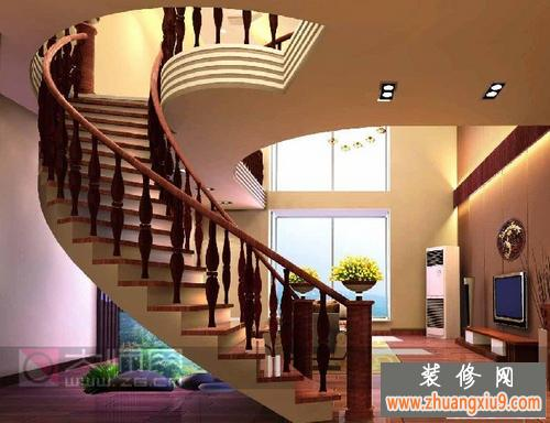 小复式楼楼梯装修效果图大全2013图片改变家的格局的