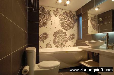 卫生间瓷砖色彩的搭配原则