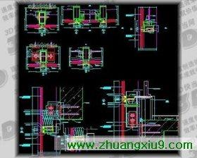 步彩图纸曲线射灯下载_装修CAD图纸_第九装楼梯工作总结图片