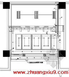 装修电气图纸内容介绍本工程为某公司自助银行装修,设计包括: