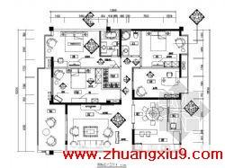 板房装修图(29张)包括:目录、设计说明、平面图、吊顶图、墙体