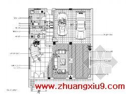 室内装修图(共39张)包括:原始平面图、平面布置图、天花图、电