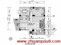 室内装修图(含效果)(9张)   包括:封面、图纸目录、施工设计说