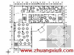 星级酒店现代中式风餐厅室内装修图 含效果 下
