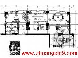 装修户型平面图 房子装修图,家庭装修图,cad家装图库,图纸下