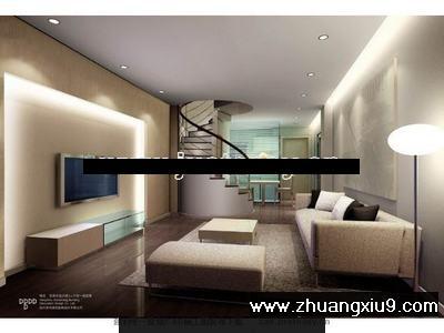 单身公寓施工图cad图纸 下载_装修样板房_第九装修网