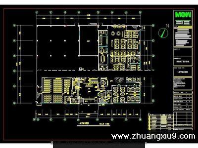 LO阿波罗总部办公楼施工图附实景图CAD图纸-商业装修CAD图纸