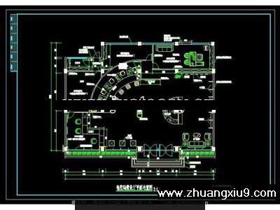 电信营业厅竣工图CAD图纸agilentn9340bcad图纸图片